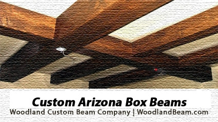 Custom Box Beams in Arizona by Woodland Custom Beam Company