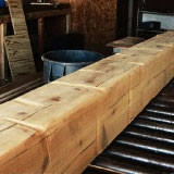 Custom Alder Wood Ceiling Beams Made Any Size Imaginable